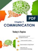 MSDKK7 - Communication
