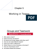 Group and team work