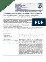 Action of Matricaria Recutita in the Management of Oral Mucositis in Animal Model