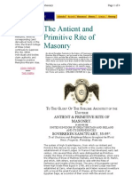 Antient and Primitive Rite of Masonry