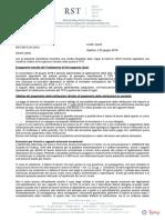 Rundschreiben 07 18 It Divieto Di Pagamento in Contanti Della Retribuzione