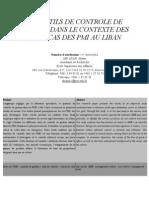 Le contrôle de gestion en contexte PME
