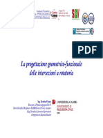 Progettazione geometrica funzionale rotatorie Prof_VAIANA