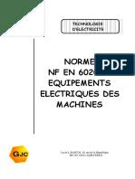 Norme NF EN 60204-1