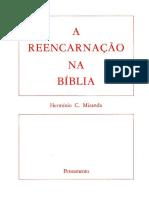 Miranda, Hermínio C. - A Reencarnação na Bíblia