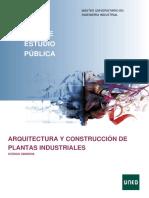 Arquitectura y construcciones de máquinas industriales
