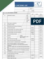 S40-OD Checking List Measurement