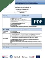 Agenda Workshop cybersecurity April 27