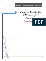 TP TRANSFERT conduction