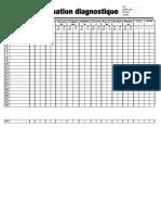 Evaluation diagnostique 3+4