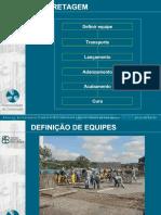 CONCRETAGEM. Definir equipe. Transporte. Lançamento. Adensamento. Acabamento. Cura - PDF Download grátis