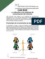 CAN BUS Introducción a los sistemas de comunicación del vehículo