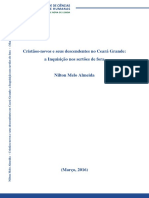 Cristãos-novos e seus descendentes no Ceará Grande