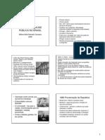 HISTÓRIA DA SAÚDE PÚBLICA NO BRASIL aula 1 FOLHETO