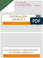 ORGANIZAÇÃO Centro Cirúrgico