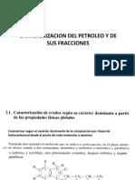 Caracterizacion de Petroleo y Sus Derivados