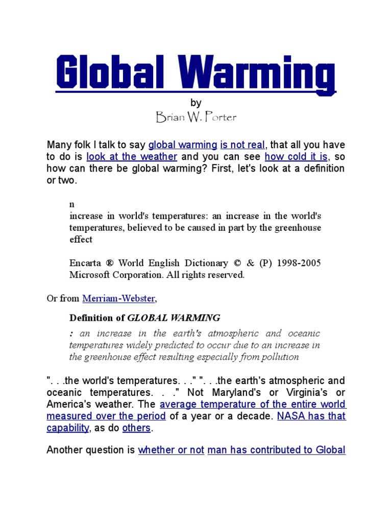 global warming | global warming | environmental issues