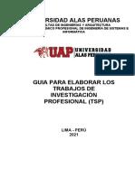 GUIA DEL TRABAJO DE SUFICIENCIA PROFESIONAL-NUEVO - 28.02.2021