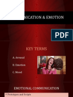 PowerPoint #12 - Communication and Emotion