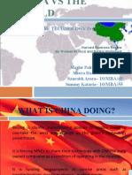 CHINA VS THE WORLD FINAL
