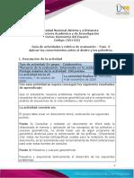 Guia de actividades y Rúbrica de evaluación - ECEDU Unidad 2 - Fase 3 - Aplicar los conocimientos sobre el diedro y los poliedros