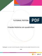 TUTORIAL PIXTON_ Criando histórias em quadrinhos. Realização_ Secretaria Geral de Educação a Distância da Universidade Federal de São Carlos