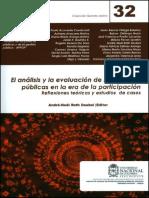 Puello-Socarras (2013) Quién sabe qué, cómo, cuándo... para qué las políticas públicas
