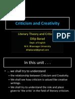 criticismvscreativity-130720111946-phpapp02