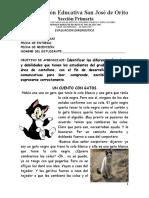 DIAGNOSTICO CATELLANO 4to