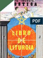 libro de liturgia gnostica
