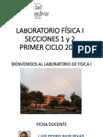 PRÁCTICA 0 LABORATORIO DE FÍSICA 1