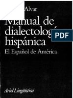 Manual de Dialectologia Hispanica Español de America by Manuel Alvar (z-lib.org)