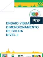 Ensaio Visual e Dimension Amen To de Solda n2 PROMIMP