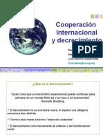 Cooperación internacional y decrecimiento