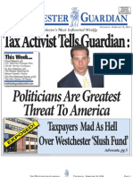 WESTCHESTER COUNTY SOCIAL SERVICES SLUSH FUND EXPOSED