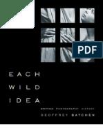 Batchen - Each Wild Idea