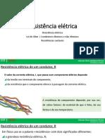 PP_ Resistência elétrica