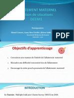 ++Médecine Préventive-Séance 4-Allaitement Maternel-nov 2020-Etudiants