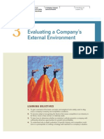 3. Evaluating a Company_s External Environment