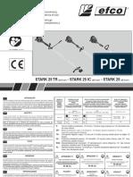 Инструкция к Efco STARK 25