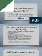 10371 - Respostas sociais de proximidade - organização e gestão-II