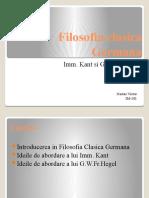 Filosofia clasica Germana
