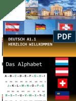 Deutsch A1 - Erste Stunde