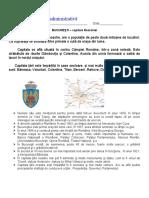 Geografie - Organizarea Administrativa, Bucuresti