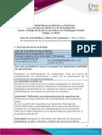 Guia de actividades y Rúbrica de evaluación - Unidad 1 - Paso 2 - Matriz de reconstrucción de la experiencia de la intervención pedagógica (1)