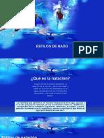 ESTILOS DE NADO