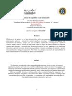 informe normas de seguridad en el laboratori