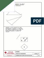 Lamina geometría descriptiva