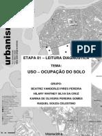 Diagnóstico Urbanístico - Uso do solo da Grande Goiabeiras