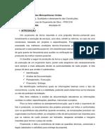 POS1316 - Tecnicas de Orçamento de Obra - Fausto Iwata  - N1